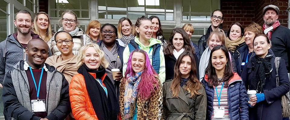 London Counselling Course Class Photo from 2018